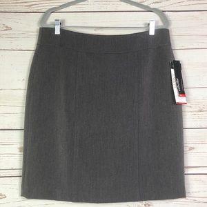 NWT Rafaella Curvy Skirt Career Work Skirt Size 14